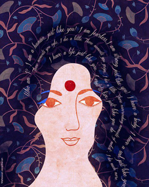 The Fearless Collective is an art and visual design platform that encourages women to be fearless and brave and works towards changing perceptions around women in India.
